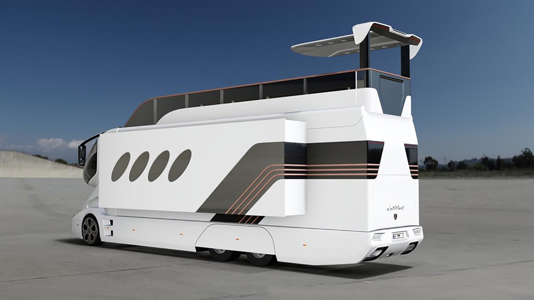 Marchi Elemment Luxury Home On Wheels By Luxury Mobility