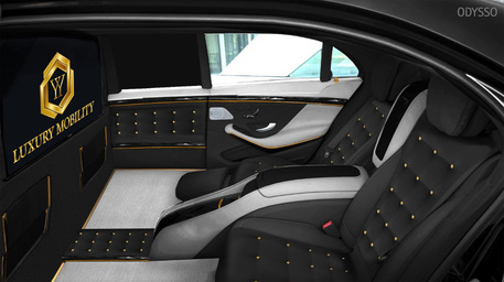 The new Majestic S-Class Maybach - Interior example